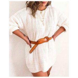 Ivory knit sweater